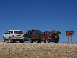Group shot at Cumberland Pass
