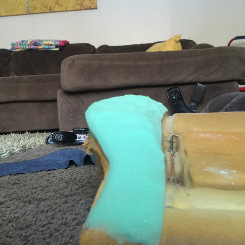 Seat cushion repair