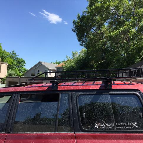 Roof Rack Repair & Upgrade 3