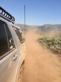 A lot of the area was extremely dusty