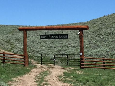 Done Runnin Ranch