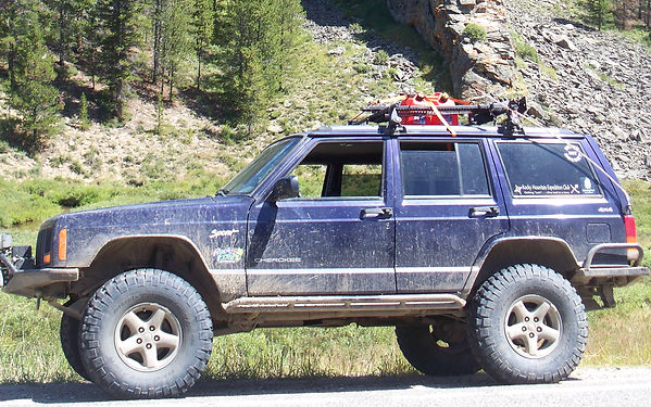 The XJ on Willow Pass during X2 with RMEC
