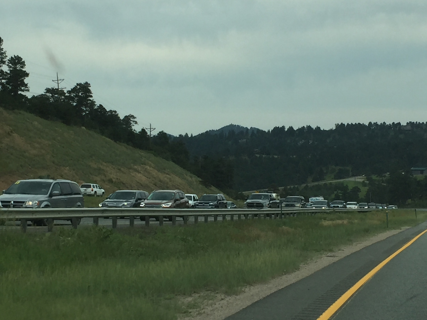 The now infamous I70 traffic