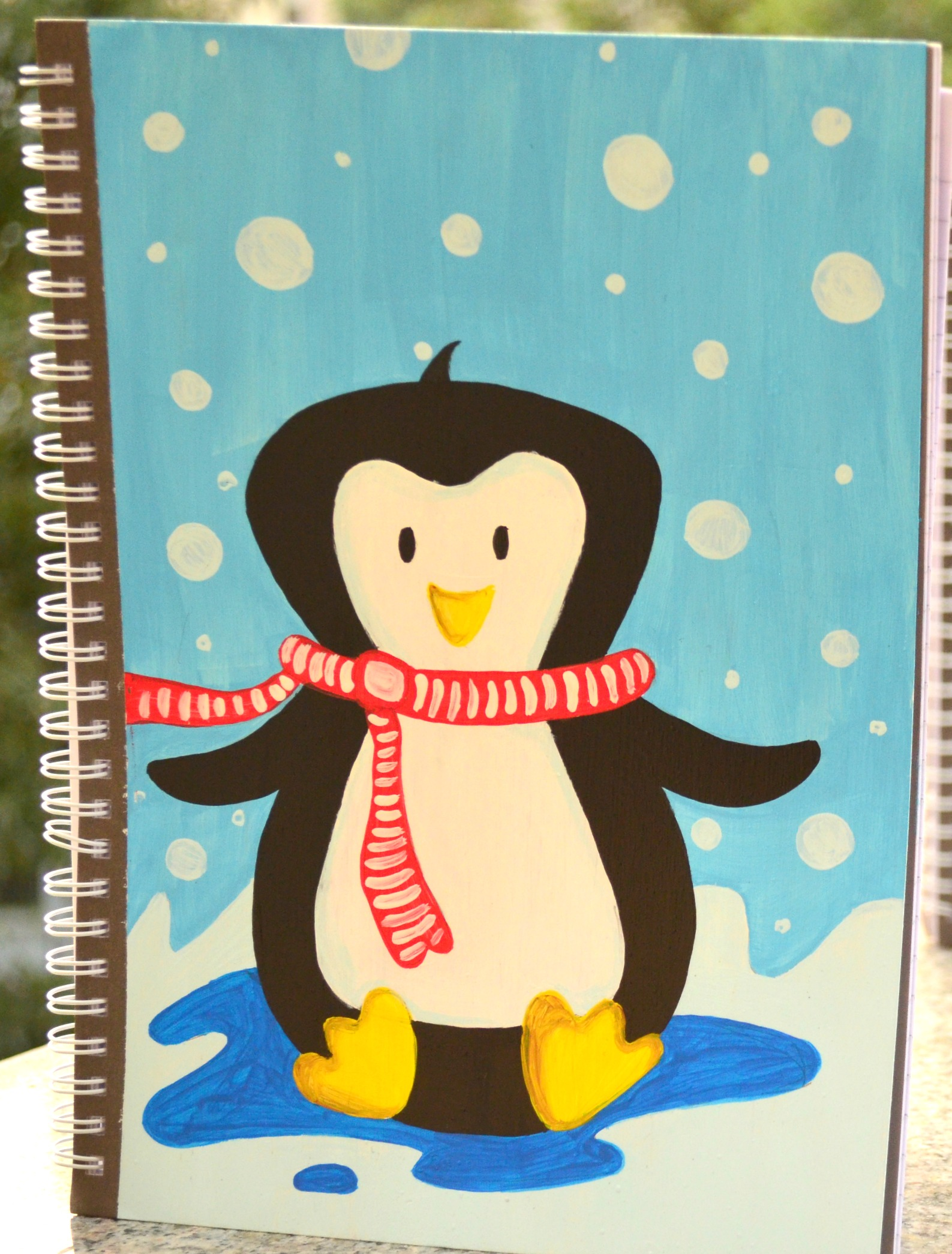 Penguin Notebook Cover