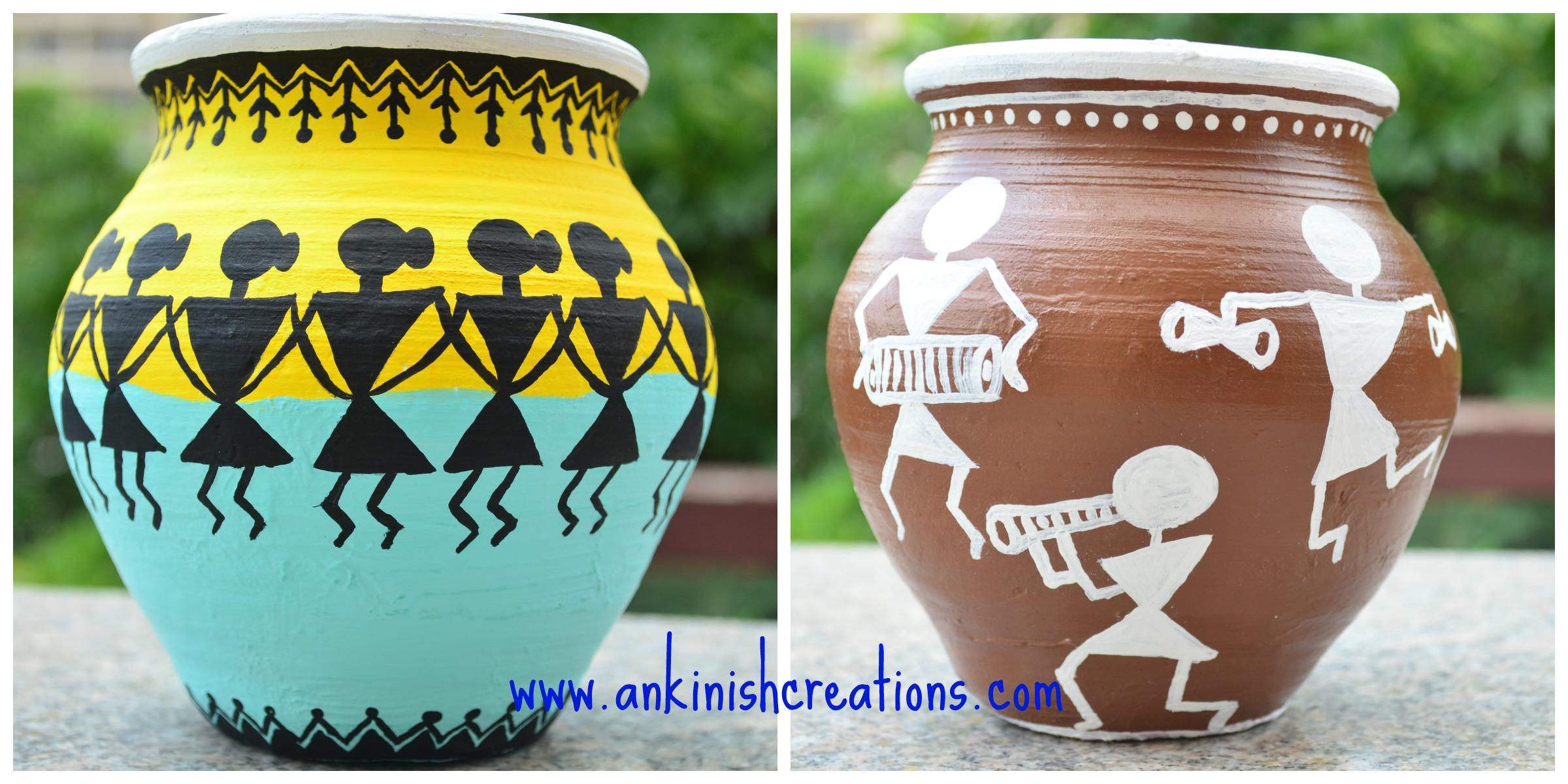 Terracotta pot decors