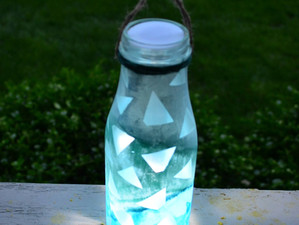 Lantern & Flower Vase