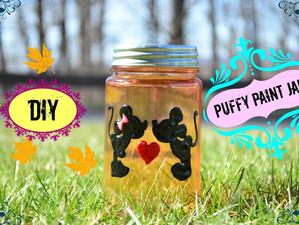 Puffy Paint Jar