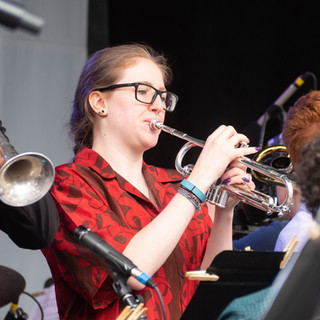 Robin Brinkerink-Johnson on Trumpet and the Joy of  Community and Collaboration in Big Bands