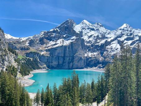 Oeschinensee, uno de los lagos más bellos de Suiza