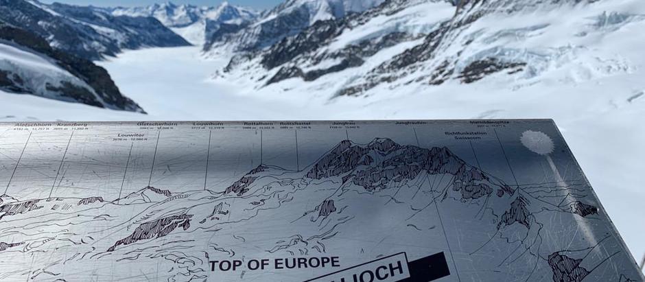 """El mundo """"congelado"""" de Jungfraujoch"""