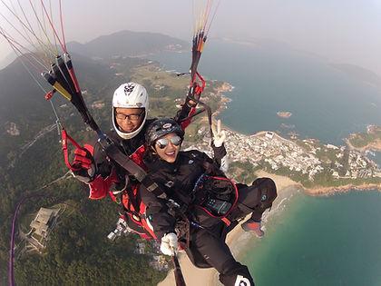 香港滑翔傘 Hong Kong Paragliding 雙人滑翔傘 since 2006 Tandem Paragliding 提供滑翔傘課程 Paragliding training PPL training 載客 香港 雙人飛行 飛機師 飛行學校 飛機牌 私人飛機 小型飛機課程