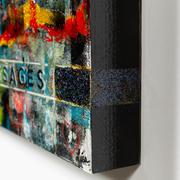 TIME PASSAGES - 36X36X3 - $5000