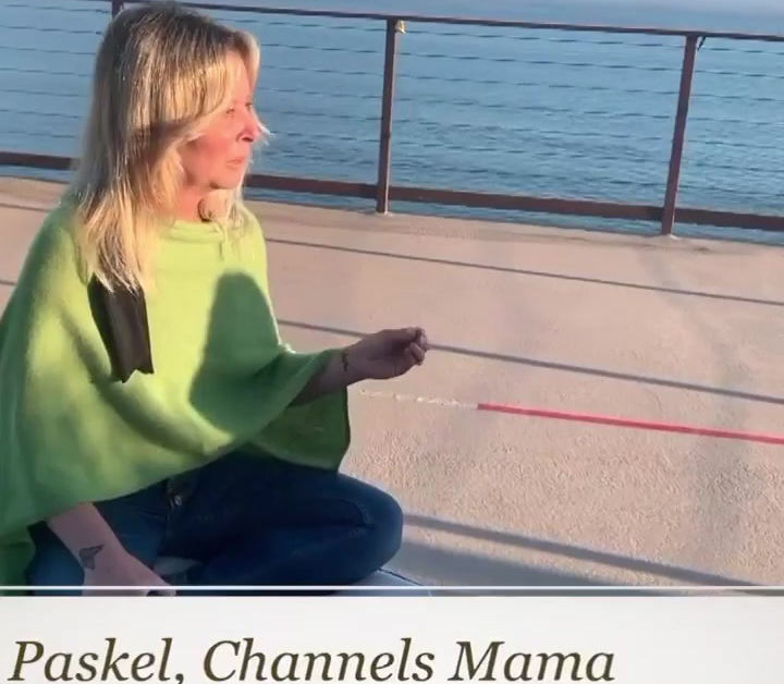 Lisa With People On Life Retreat