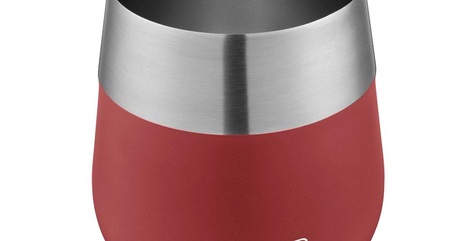 Copa de Vino, Acero Inoxidable Rojo 13 oz.