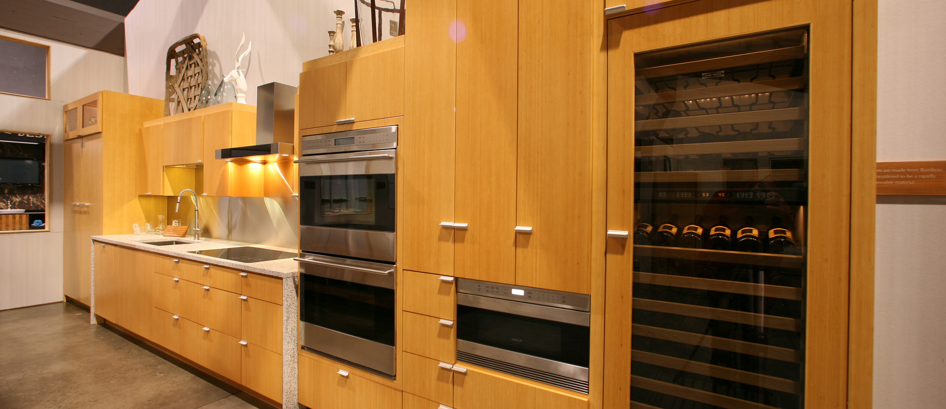 WINE COOLER AND MICROWAVE DRAWER
