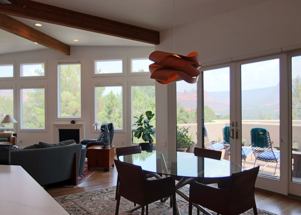 GREAT ROOM SURROUNDED BY VIEWS