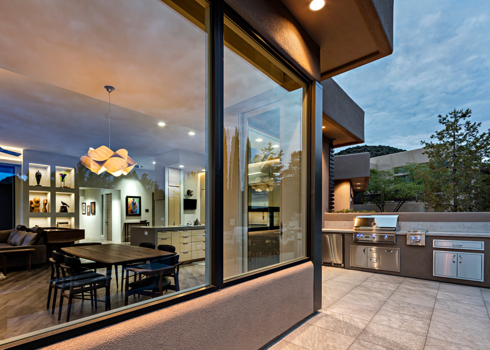 INDOOR AND OUTDOOR KITCHENS