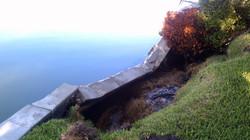 Failed Seawall