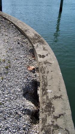 Seawall Settlement/erosion