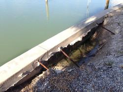 Deteriorated Seawall