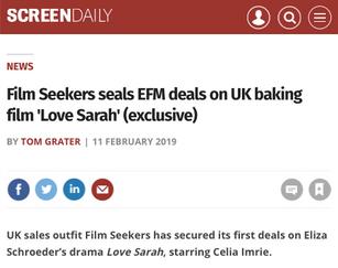 """Love Sarah"" sells at EFM"