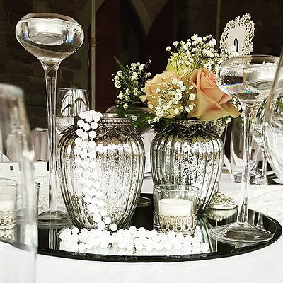 1920 wedding centrepieces dont have to b