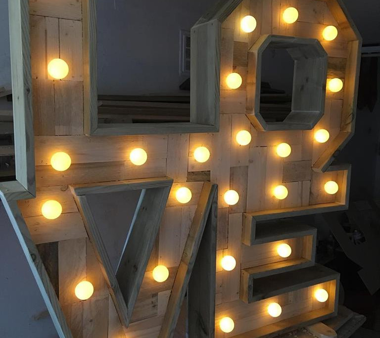 love letters rustic