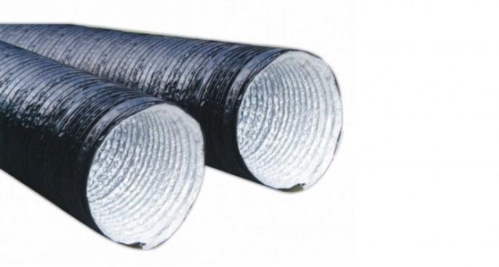 Εύκαμπτοι αεραγωγοί από αλουμίνιο με επέ