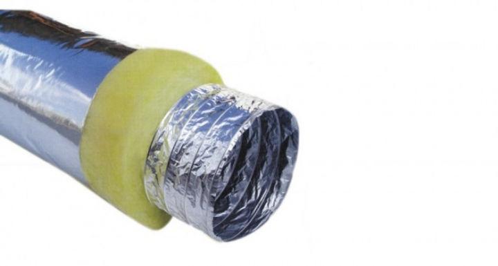 Εύκαμπτοι αεραγωγοί από αλουμίνιο με μόν