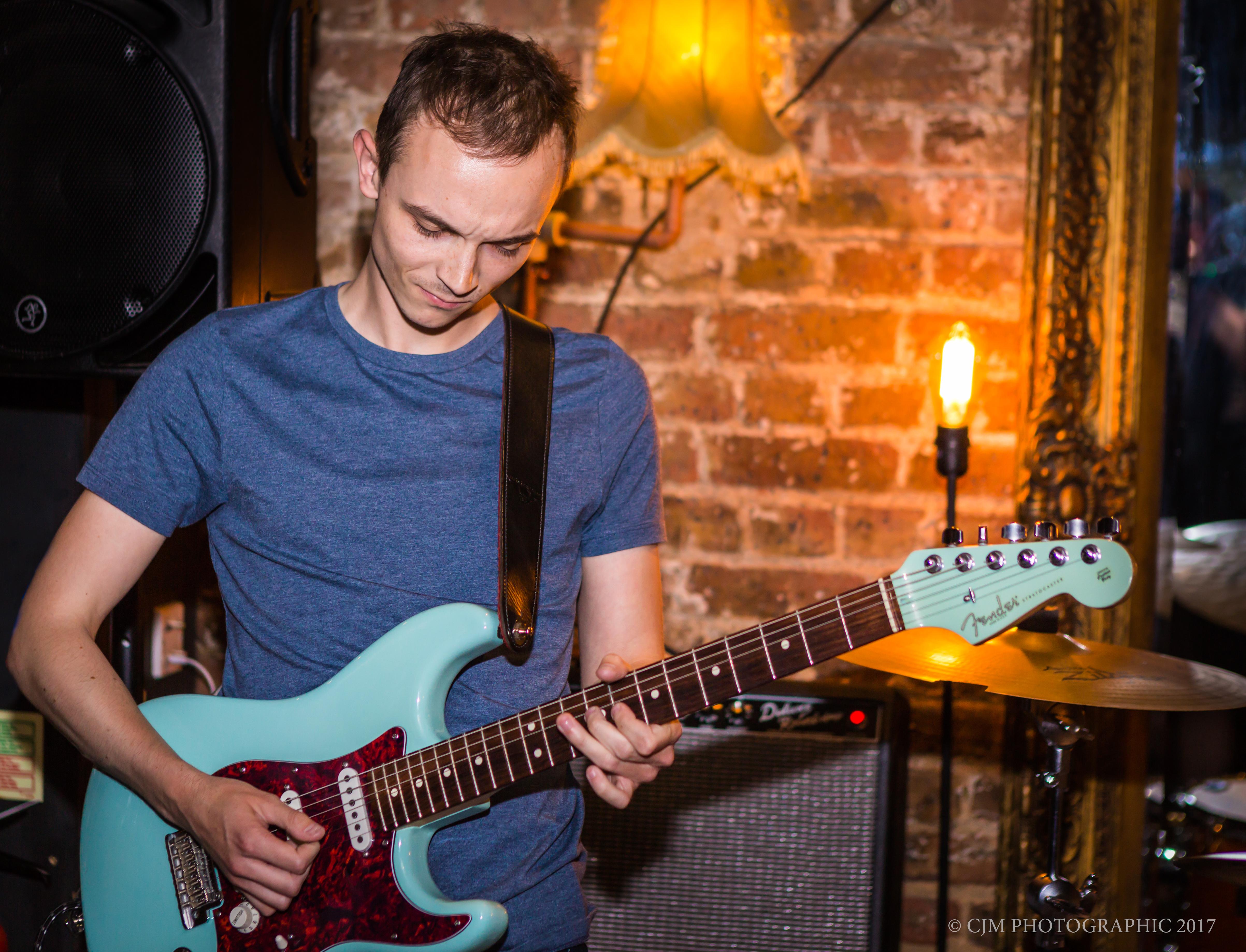 Guitarist CJM Photographic