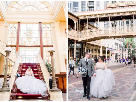 WINTER WONDERLAND WEDDING AT THE ORCHID GARDEN | ORLANDO, FLORIDA