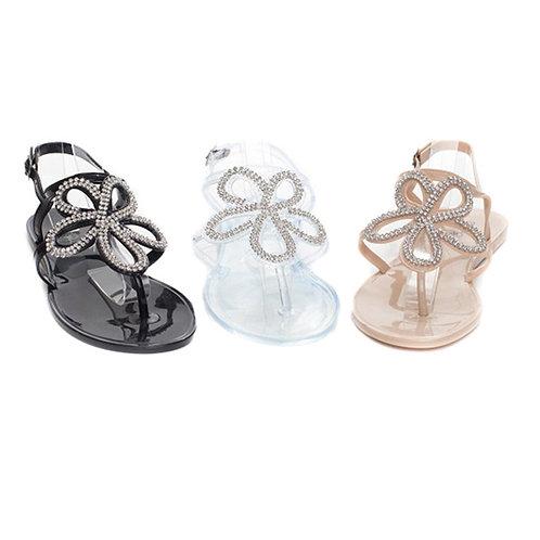 Flower Jelly Sandal
