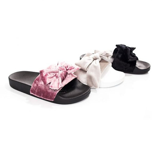 Velvet Sandal Slip on