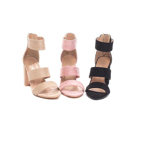 Triple Strap Heels