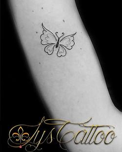 papillon minimaliste