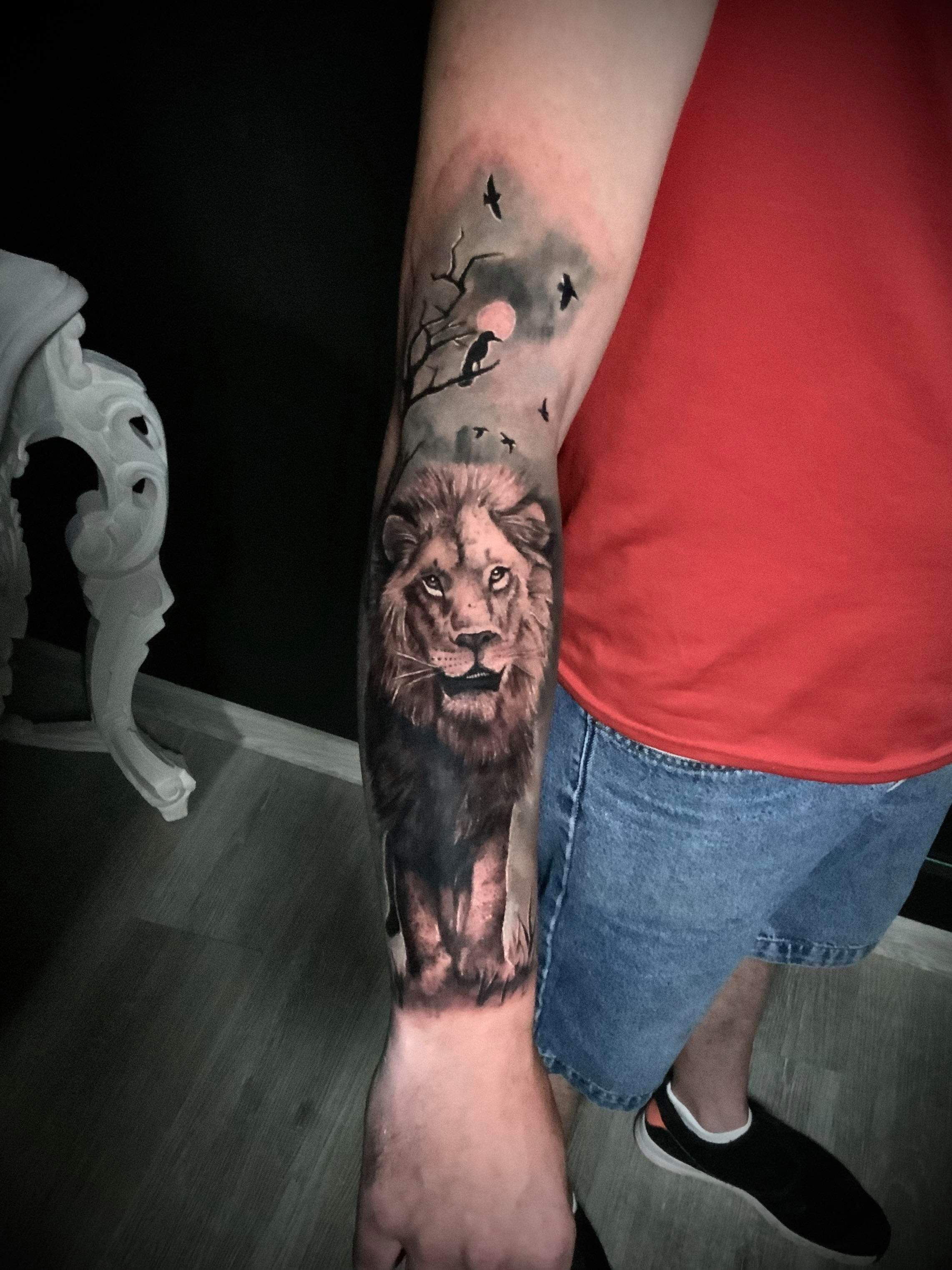 Salon de tatouage tatoueur réalisme photo réaliste à Gradignan proche de Bordeaux