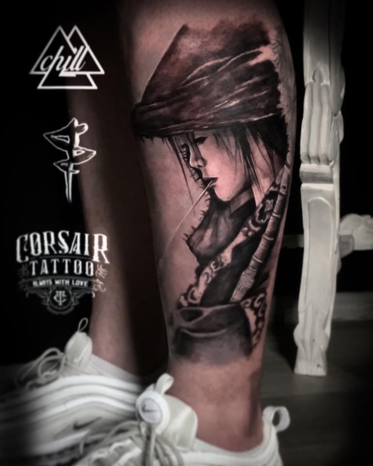 Salon de tatouage tatoueur réalisme photo réaliste à Gradignan proche de Pessac