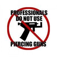 pistolet interdit pour les piercings Gradignan Bordeaux Pessac Aquitaine