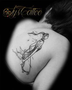 tatouage liberté