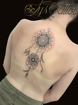 tatouage attrape reve dreamcatcher
