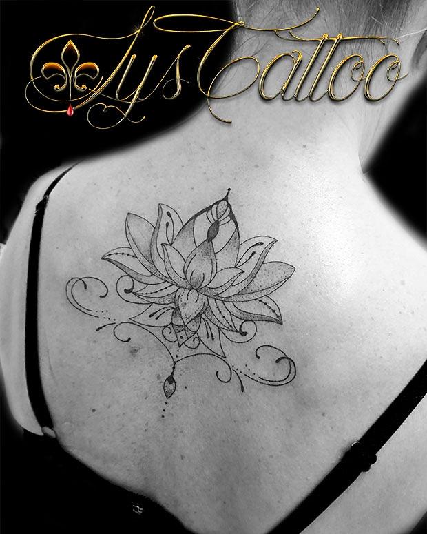 fleur de lotus arabesques