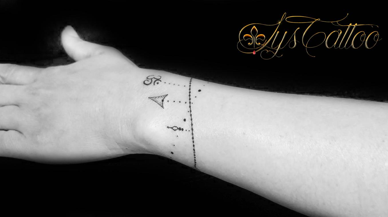 tatouage bracelet