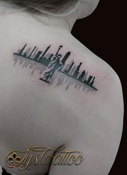 tatouage new york