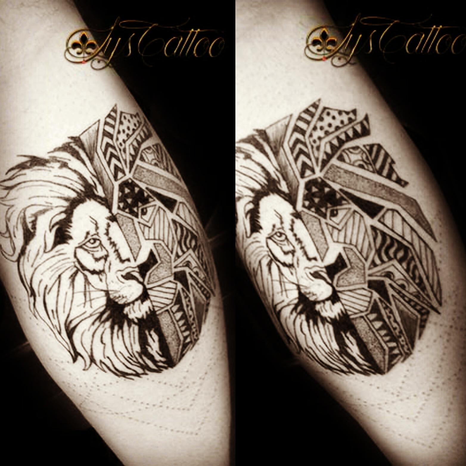 tatouage mollet homme bordeaux giron