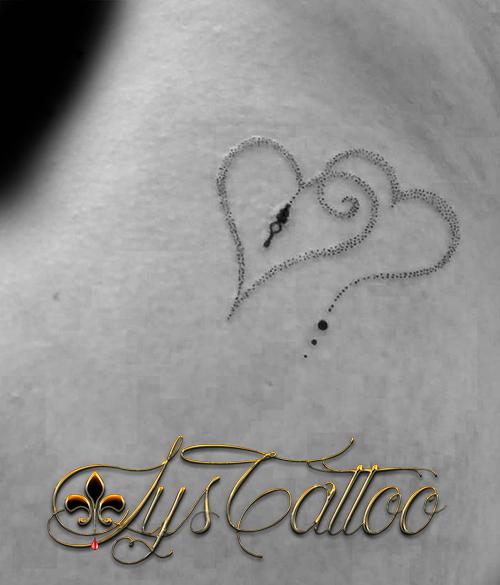 tatouage coeurs