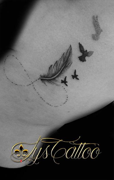 tatouage féminin talence
