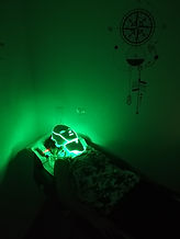 lumière verte pour photothérapie pour homme et femme soin de la peau Gradignan Bordeaux Villenave d'Ornon Aquitaine