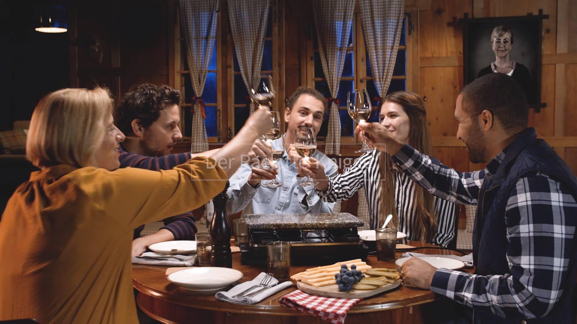 Raclette-Knigge: Pfännchen klauen