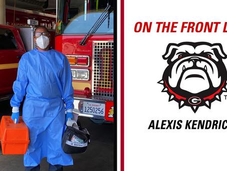 Firefighter, Former Lady Bulldog Alexis Kendricks Battles Pandemic
