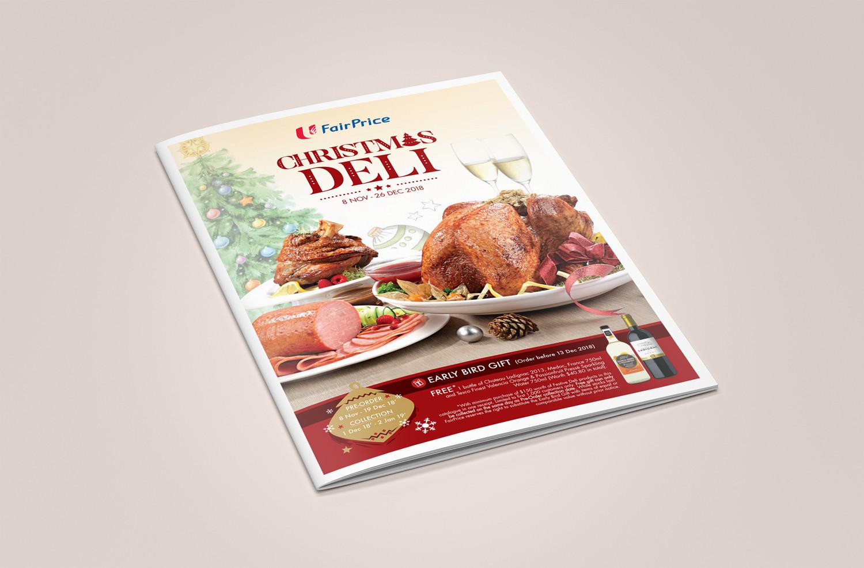 FairPrice Christmas Deli Catalog (Design & Photography)
